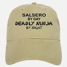 Salsero Deadly Ninja by Night Baseball Baseball Cap