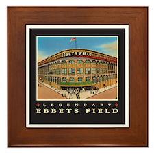 Ebbets Field Framed Tile