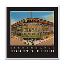 Ebbets Field Tile Coaster
