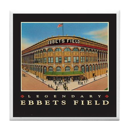 Ebbets Field Tile Coaster