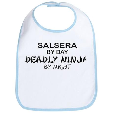 Salsera Deadly Ninja by Night Bib