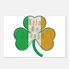The Erin Go Braugh Irish Shamrock Postcards (Packa