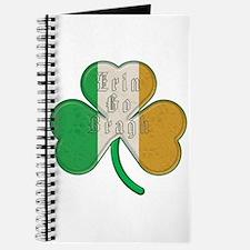 The Erin Go Braugh Irish Shamrock Journal