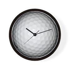 Golf Ball Wall Clock