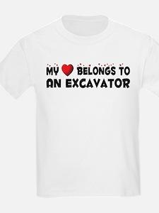 Belongs To An Excavator T-Shirt