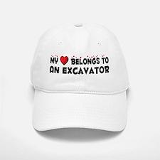 Belongs To An Excavator Baseball Baseball Cap