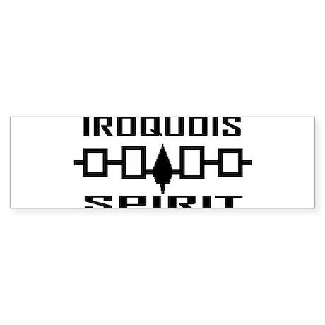 Iroquois Spirit Bumper Sticker