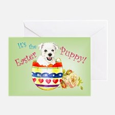 Easter Westie Greeting Card