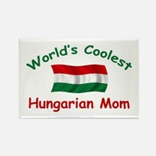Coolest Hungarian Mom Rectangle Magnet