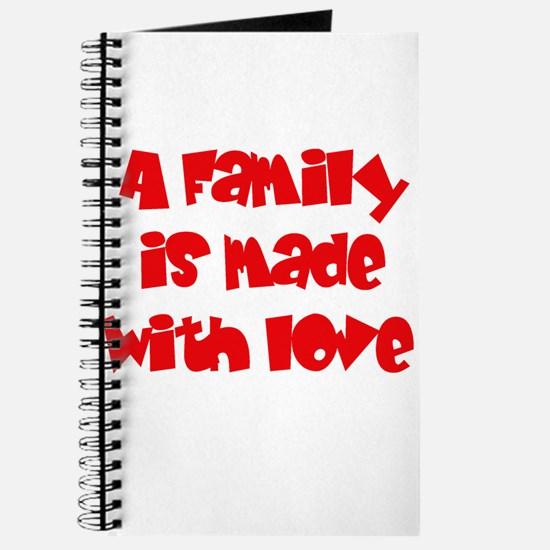 A family is made of love Journal