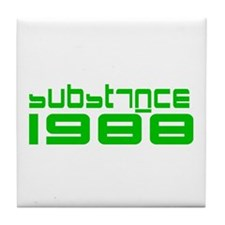 substance 1988 Tile Coaster