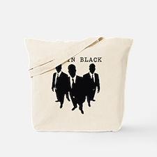 Men in Black Plain Tote Bag