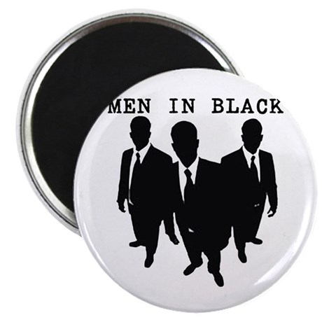 Men in Black Plain Magnet