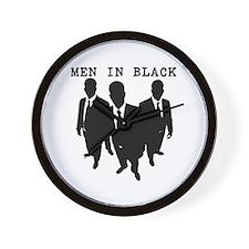 Men in Black Plain Wall Clock
