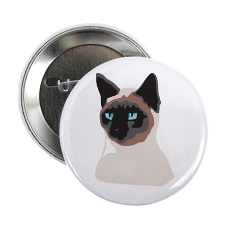 "Blue-Eyed Kitty 2.25"" Button (100 pack)"