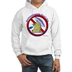Archs Don't Dig Dino Or UFO'S Hooded Sweatshirt