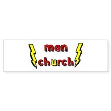 Man Church Bumper Bumper Stickers
