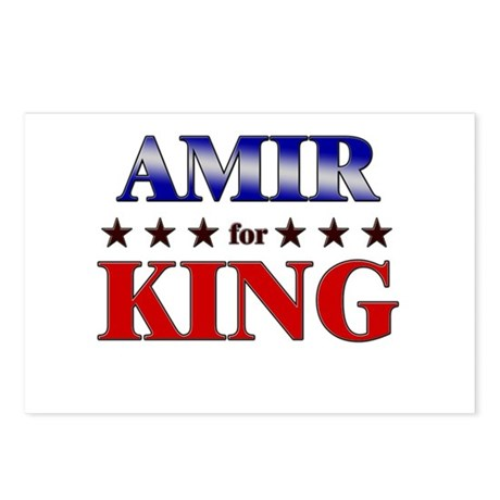 AMIR for king Postcards (Package of 8)