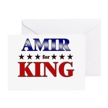 AMIR for king Greeting Card