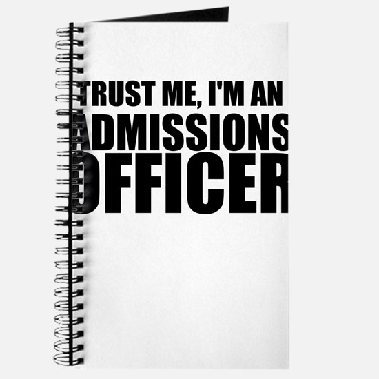 Trust Me, I'm An Admissions Officer Journal
