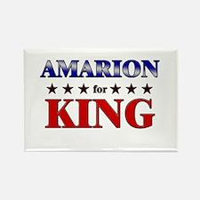 AMARION for king Rectangle Magnet