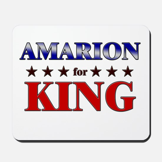 AMARION for king Mousepad