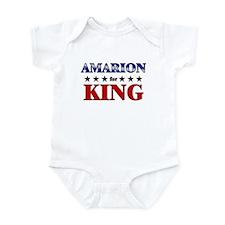 AMARION for king Infant Bodysuit