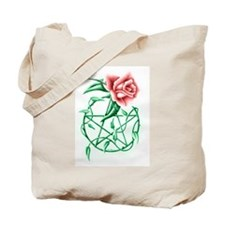 Cute Rose pentacle charity Tote Bag