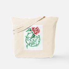 Cute Rose pentacle charity Tote Bag