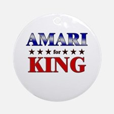 AMARI for king Ornament (Round)