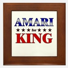 AMARI for king Framed Tile