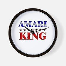 AMARI for king Wall Clock