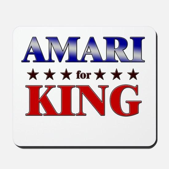 AMARI for king Mousepad