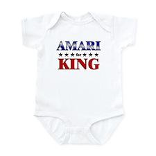 AMARI for king Infant Bodysuit