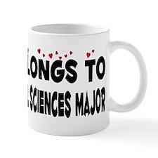 Belongs To An Environmental Sciences Major Mug