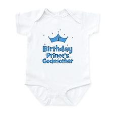 1st Birthday Prince's Godmoth Infant Bodysuit