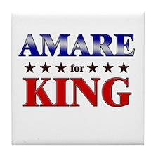 AMARE for king Tile Coaster