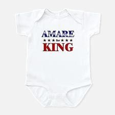 AMARE for king Infant Bodysuit