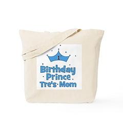 CUSTOM - 1st Birthday Prince Tote Bag