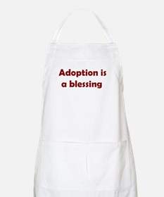 Blessing (maroon writing) BBQ Apron