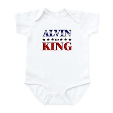 ALVIN for king Infant Bodysuit