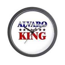 ALVARO for king Wall Clock
