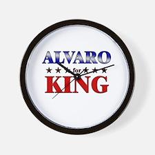 ALVARO for king Wall Clock