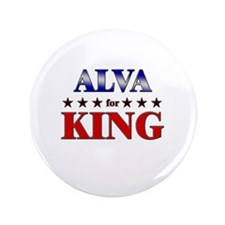 "ALVA for king 3.5"" Button"
