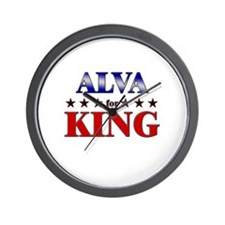 ALVA for king Wall Clock