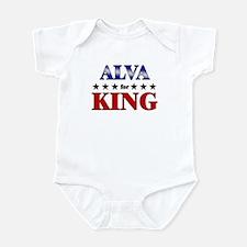 ALVA for king Infant Bodysuit