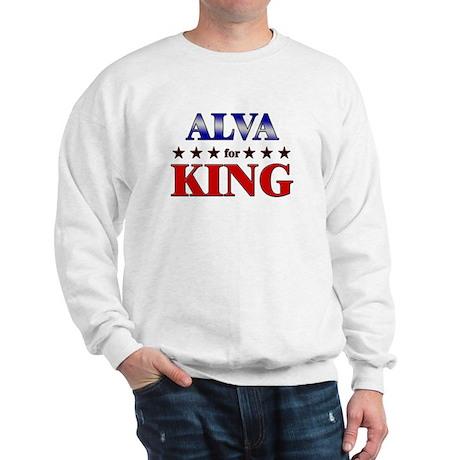 ALVA for king Sweatshirt