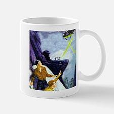 Green Flame Mug