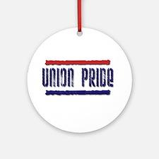 UNION PRIDE 2 Ornament (Round)