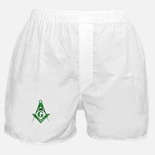 Masonic Shamrock Boxer Shorts